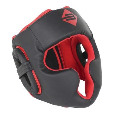 Тренировочный шлем BoyBo атака черно-красный в наличии в магазине Сайд-Степ