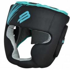 Тренировочный шлем BoyBo stain черно-бирюзовый
