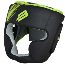 Тренировочный шлем BoyBo stain черно-зеленый