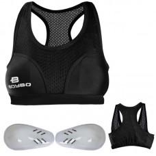 Защита груди женская BoyBo черная