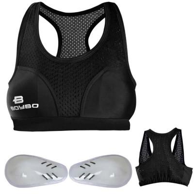 Защита груди женская BoyBo черная в наличии в магазине Сайд-Степ