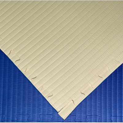 Будо-мат бело-синий 1*1 м (40 мм) в наличии в магазине Сайд-Степ