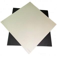 Будо-мат черно-белый 1*1 м (20 мм)
