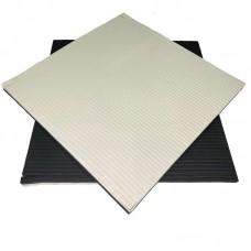 Будо-мат черно-белый 1*1 м (40 мм)