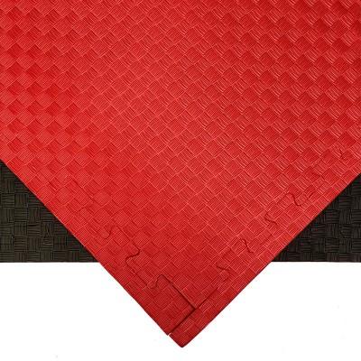 Будо-мат красно-черный 1*1 м (20 мм) в наличии в магазине Сайд-Степ