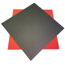 Будо-мат черно-красный 1*1 м (25 мм)