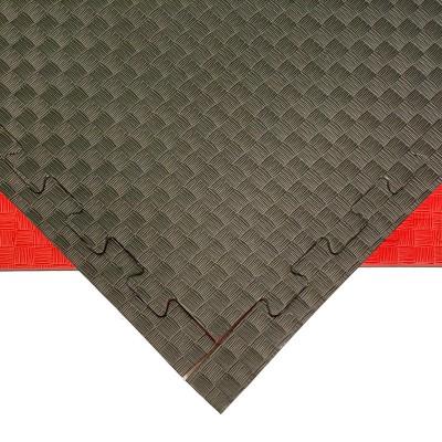 Будо-мат черно-красный 1*1 м (25 мм) в наличии в магазине Сайд-Степ
