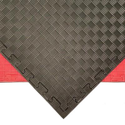 Будо-мат черно-красный prc 1*1 м (25 мм) в наличии в магазине Сайд-Степ