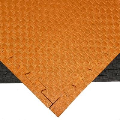 Будо-мат черно-оранжевый 1*1 м (25 мм) в наличии в магазине Сайд-Степ