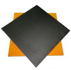 Будо-мат черно-оранжевый 1*1 м (40 мм)