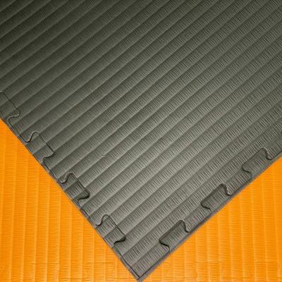 Будо-мат черно-оранжевый 1*1 м (40 мм) в наличии в магазине Сайд-Степ