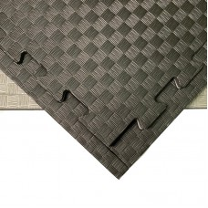 Будо-мат черно-серый 1*1 м (25 мм)