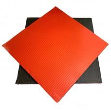 Будо-мат черно-красный 1*1 м (40 мм)