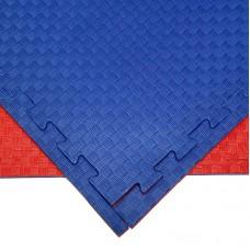 Будо-мат красно-синий 1*1 м (20 мм)