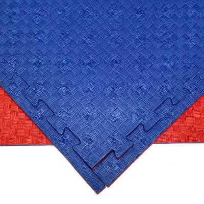 Будо-мат красно-синий 1*1 м (25 мм) в наличии в магазине Сайд-Степ