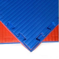 Будо-мат красно-синий 1*1 м (40 мм)