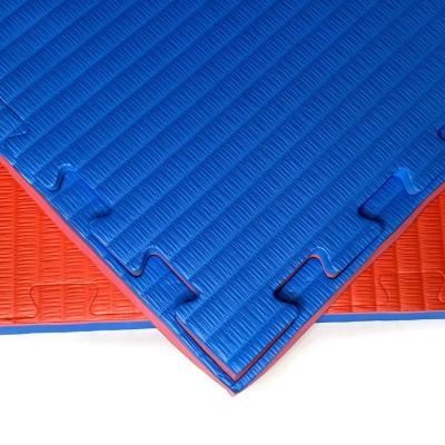 Будо-мат красно-синий 1*1 м (40 мм) в наличии в магазине Сайд-Степ