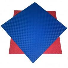 Будо-мат красно-синий prc 1*1 м (20 мм)