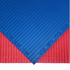Будо-мат красно-синий prc 1*1 м (40 мм)