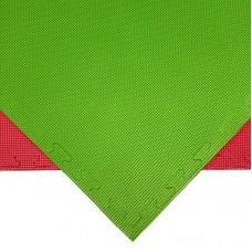 Будо-мат красно-зеленый prc 1*1 м (20 мм)