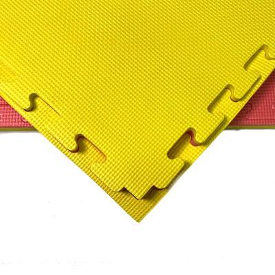 Будо-мат красно-желтый prc 1*1 м (25 мм) в наличии в магазине Сайд-Степ
