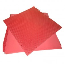 Будо-мат красный prc 1*1 м (10 мм)