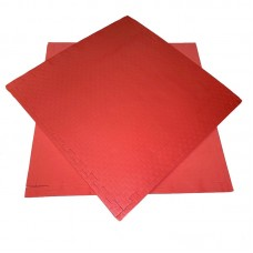 Будо-мат красный 1*1 м (10 мм)