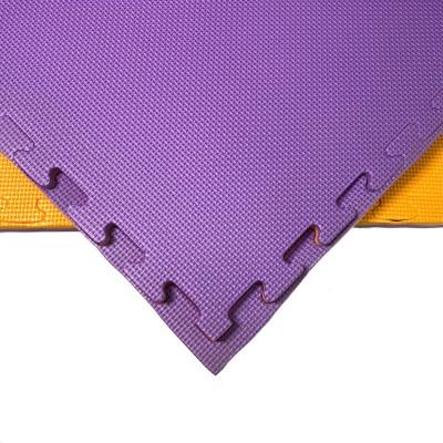 Будо-мат оранжево-фиолетовый prc 1*1 м (20 мм) в наличии в магазине Сайд-Степ