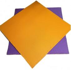 Будо-мат оранжево-фиолетовый prc 1*1 м (20 мм)