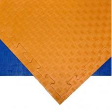 Будо-мат оранжево-синий 1*1 м (20 мм)