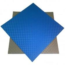 Будо-мат сине-серый prc 1*1 м (25 мм)