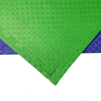 Будо-мат сине-зеленый 1*1 м (20 мм) в наличии в магазине Сайд-Степ