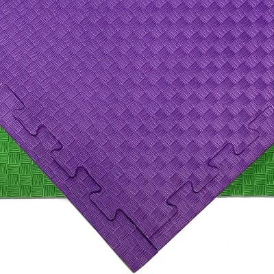 Будо-мат зелено-фиолетовый 1*1 м (25 мм) в наличии в магазине Сайд-Степ
