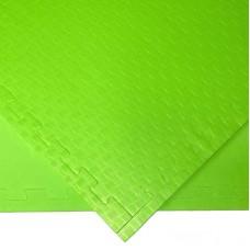 Будо-мат зеленый 1*1 м (10 мм)