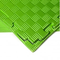 Будо-мат зеленый prc 1*1 м (10 мм)