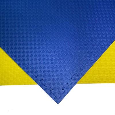 Будо-мат желто-синий 1*1 м (20 мм) в наличии в магазине Сайд-Степ