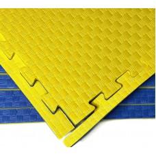 Будо-мат желто-синий prc 1*1 м (30 мм)