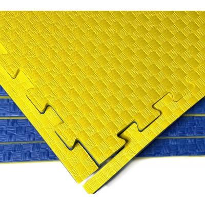 Будо-мат желто-синий prc 1*1 м (30 мм) в наличии в магазине Сайд-Степ