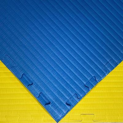 Будо-мат желто-синий 1*1 м (40 мм) в наличии в магазине Сайд-Степ