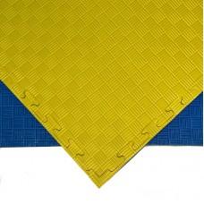 Будо-мат желто-синий prc 1*1 м (25 мм)