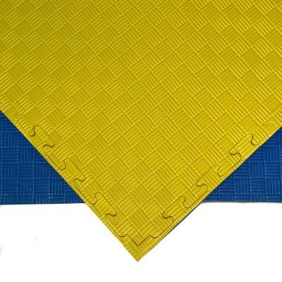 Будо-мат желто-синий prc 1*1 м (25 мм) в наличии в магазине Сайд-Степ