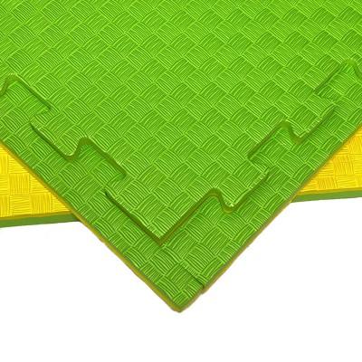 Будо-мат желто-зеленый 1*1 м (25 мм) в наличии в магазине Сайд-Степ