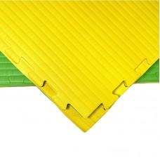 Будо-мат желто-зеленый 1*1 м (40 мм)