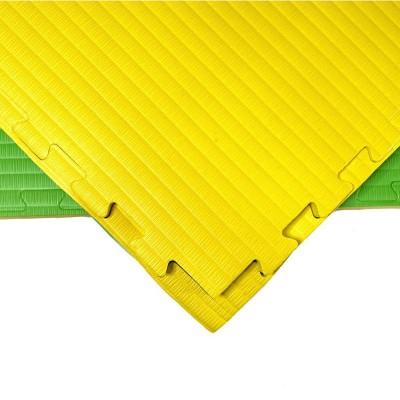Будо-мат желто-зеленый 1*1 м (40 мм) в наличии в магазине Сайд-Степ