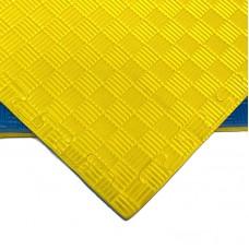 Будо-мат желто-синий prc 1*1 м (20 мм)