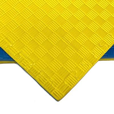 Будо-мат желто-синий prc 1*1 м (20 мм) в наличии в магазине Сайд-Степ