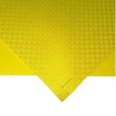Будо-мат желтый 1*1 м (10 мм)