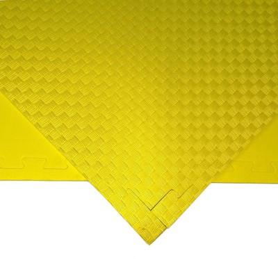 Будо-мат желтый 1*1 м (10 мм) в наличии в магазине Сайд-Степ