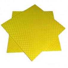 Будо-мат желтый prc 1*1 м (10 мм)