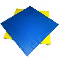 Будо-мат желто-синий prc 1*1 м (40 мм)